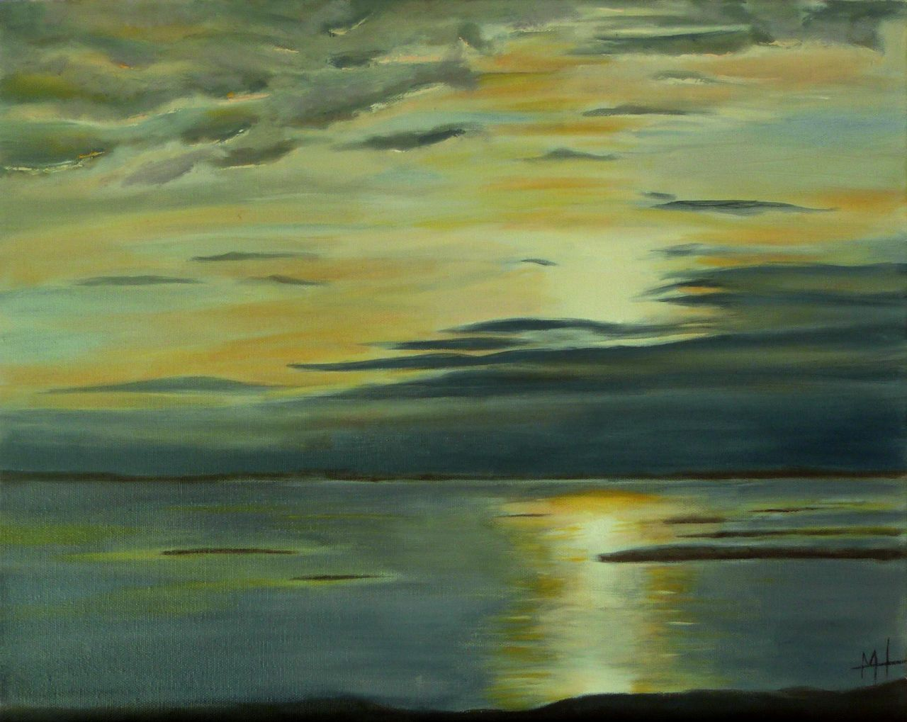 Marie-Hélène CLINCHAMPS Rising sun