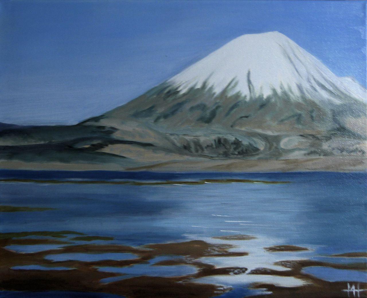 Marie-Hélène CLINCHAMPS Volcan des Andes
