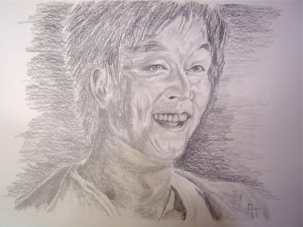 Marie-Hélène CLINCHAMPS Eclats de rire, Gong Yoo