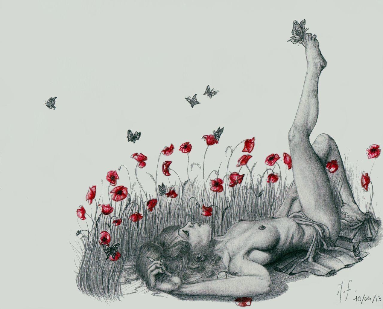 Marion Fouilloux Les jolies fleurs