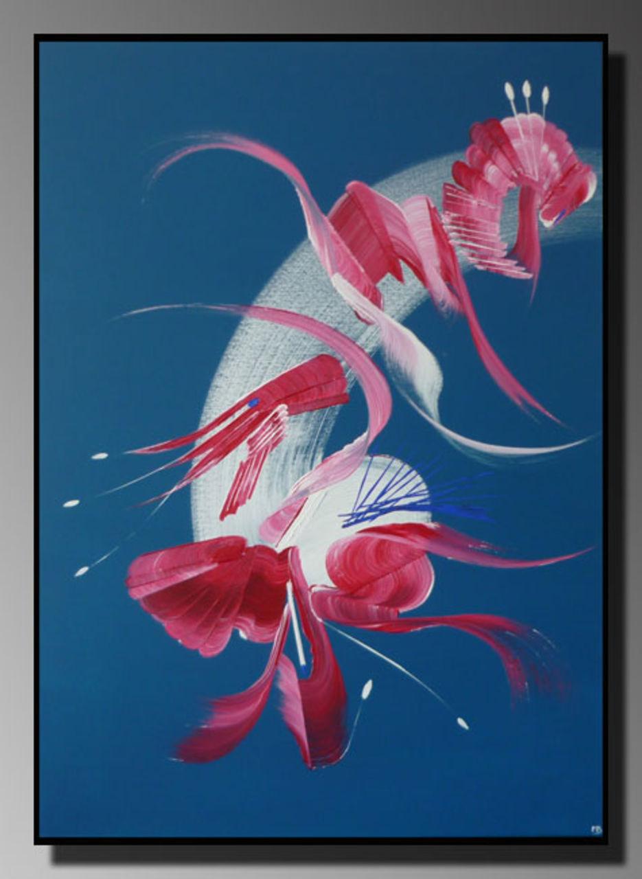 Martine BELFODIL Artiste Peintre professionnelle INTRUSION