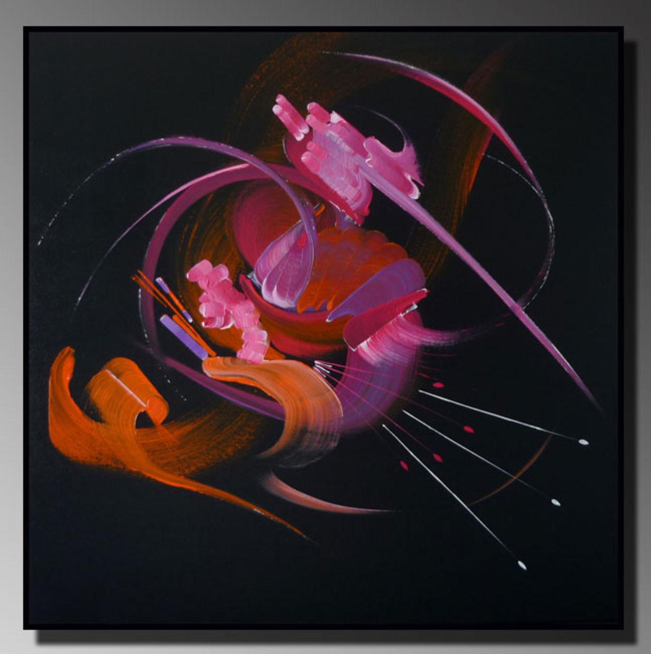 Martine BELFODIL Artiste Peintre professionnelle SONGE D'UNE NUIT