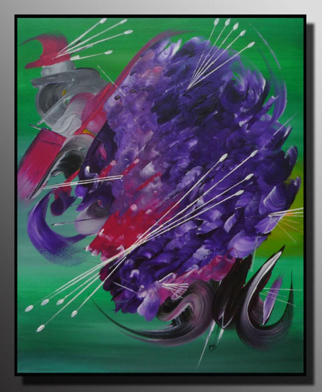 Martine BELFODIL Artiste Peintre professionnelle Le tourbillon