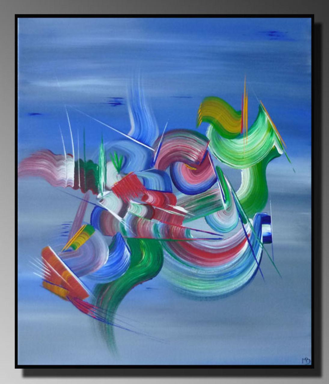 Peinture abstraite chimere martine belfodil artiste for Peintures abstraites