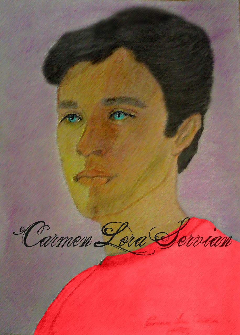 MARY CARMEN LORA SERVIAN TOM WELLING TÉCNICA MIXTA