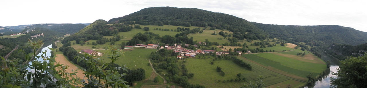 Mathieu BOUCHER Vallée du doubs en panoramique