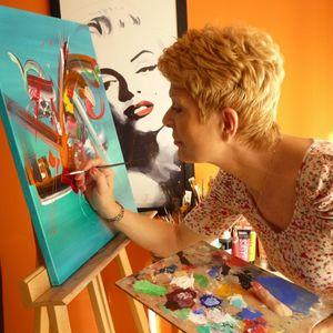 Martine BELFODIL Artiste Peintre professionnelle