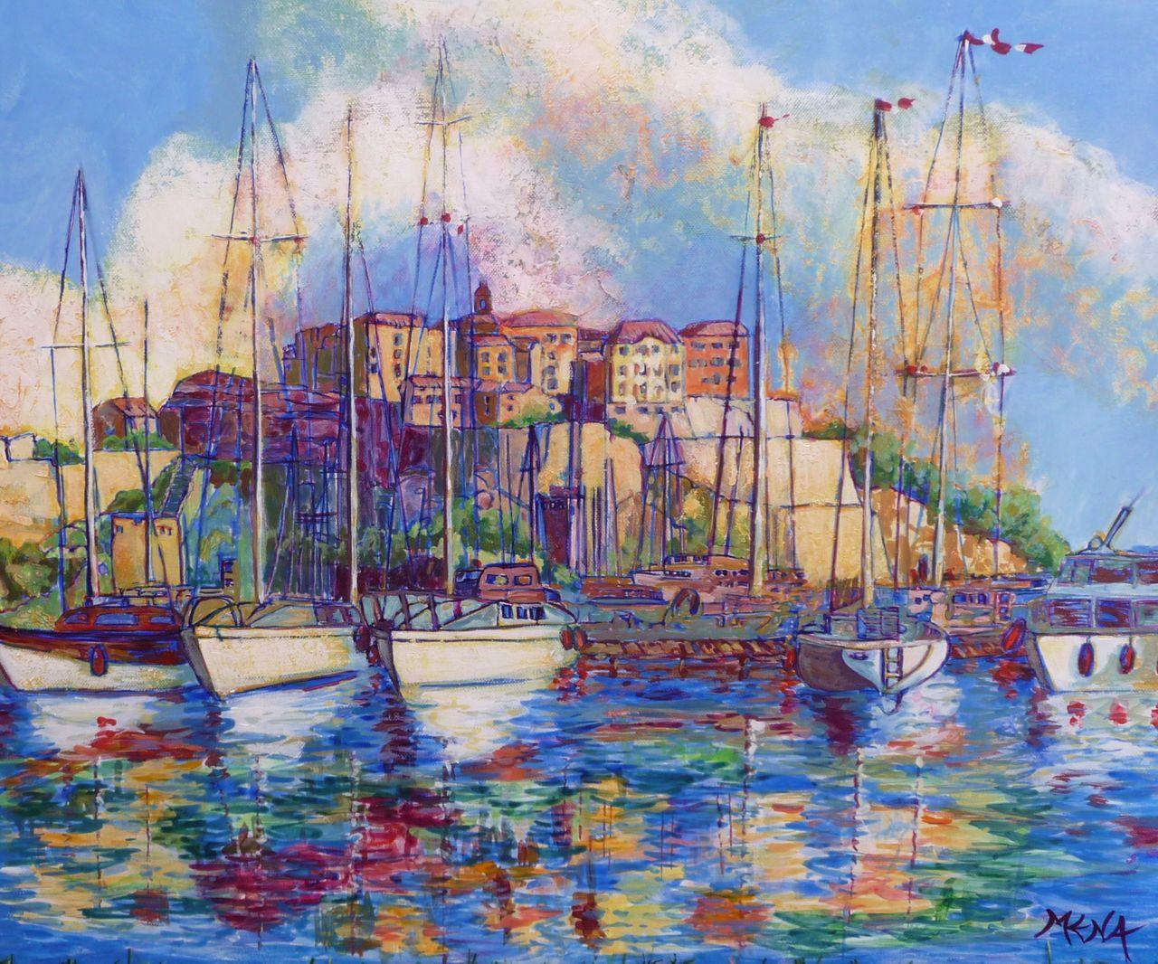 MENA Le port de Calvi