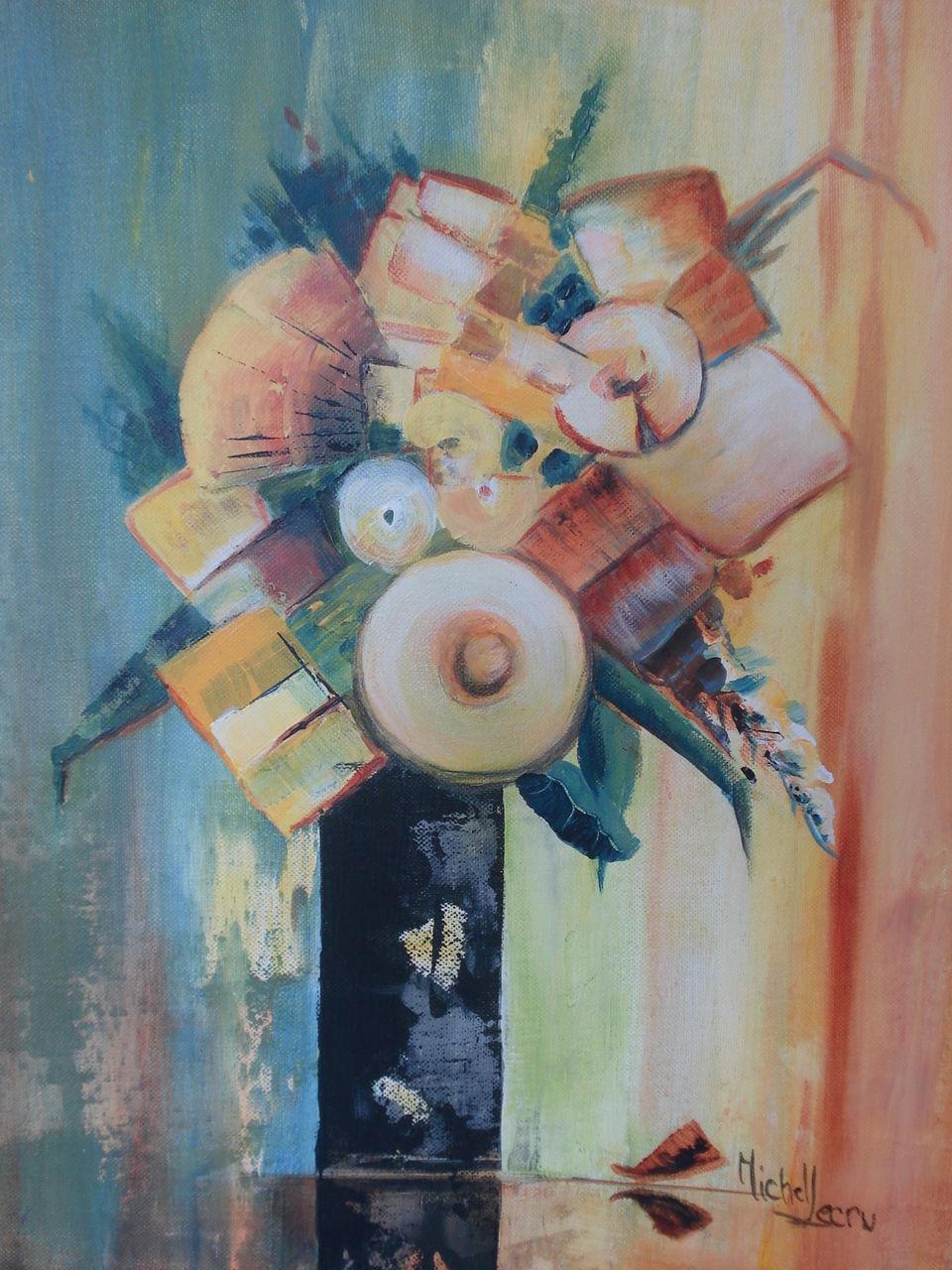 michel lecru bouquet moulin