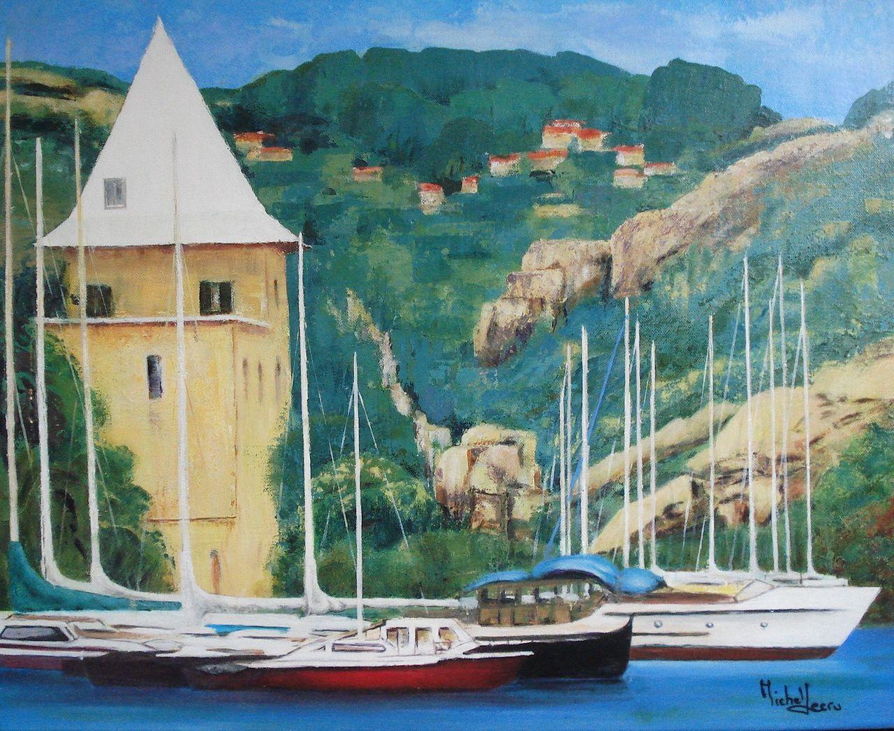 michel lecru calanque de Port-Miou