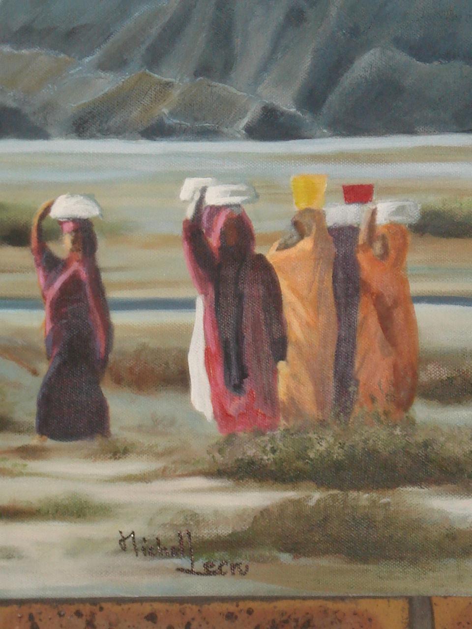 michel lecru Femmes BALOUTHES nomades