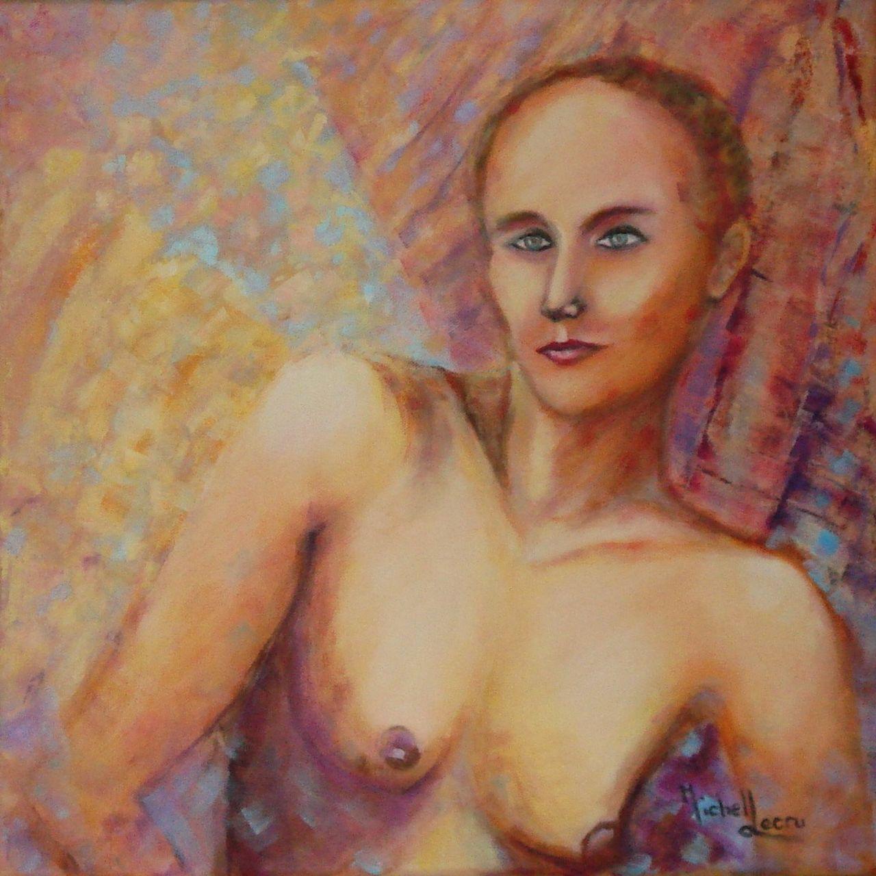 michel lecru portrait de Vanessa