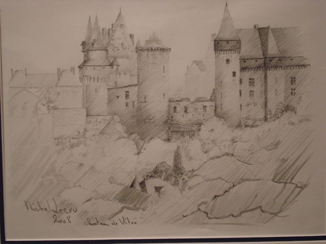 michel lecru Chateau de Vitré