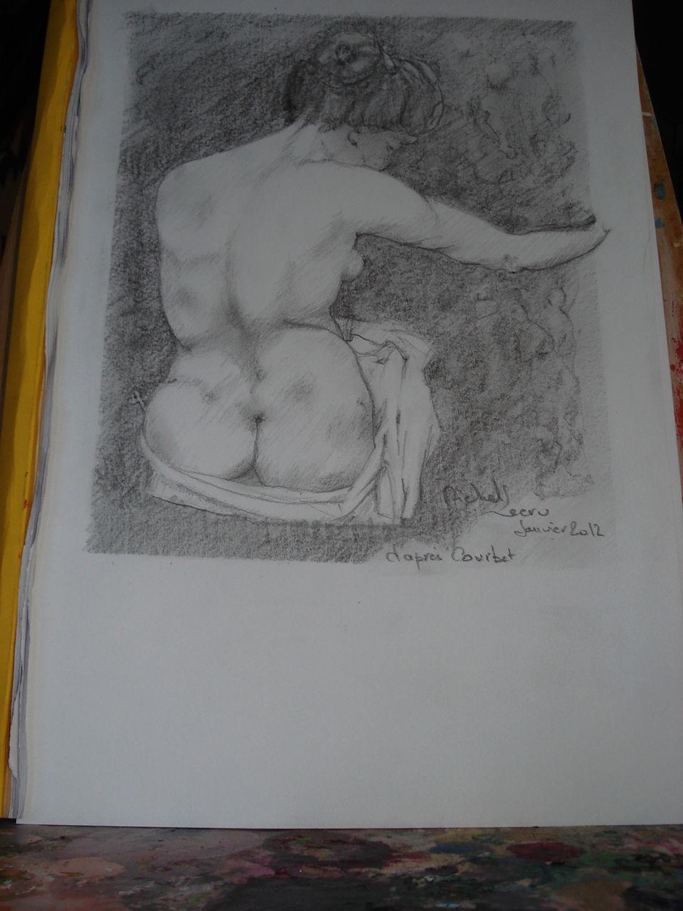 michel lecru Plaisir de dessiner Courbet