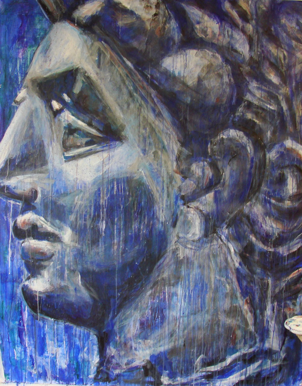 Michele Julie Ansermet Papadopoulos PROFILE IN BLUE