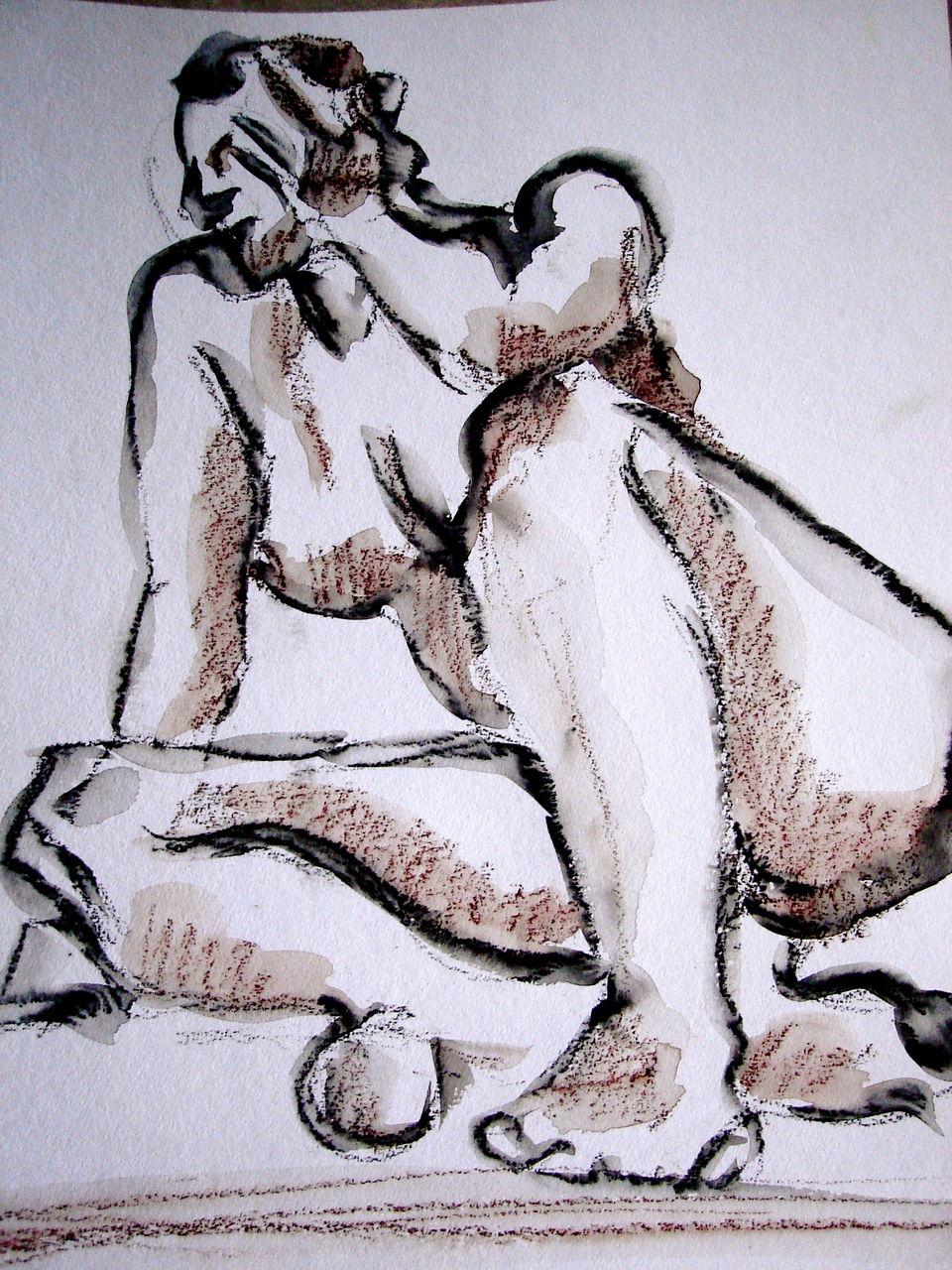 Michele Julie Ansermet Papadopoulos La femme assise