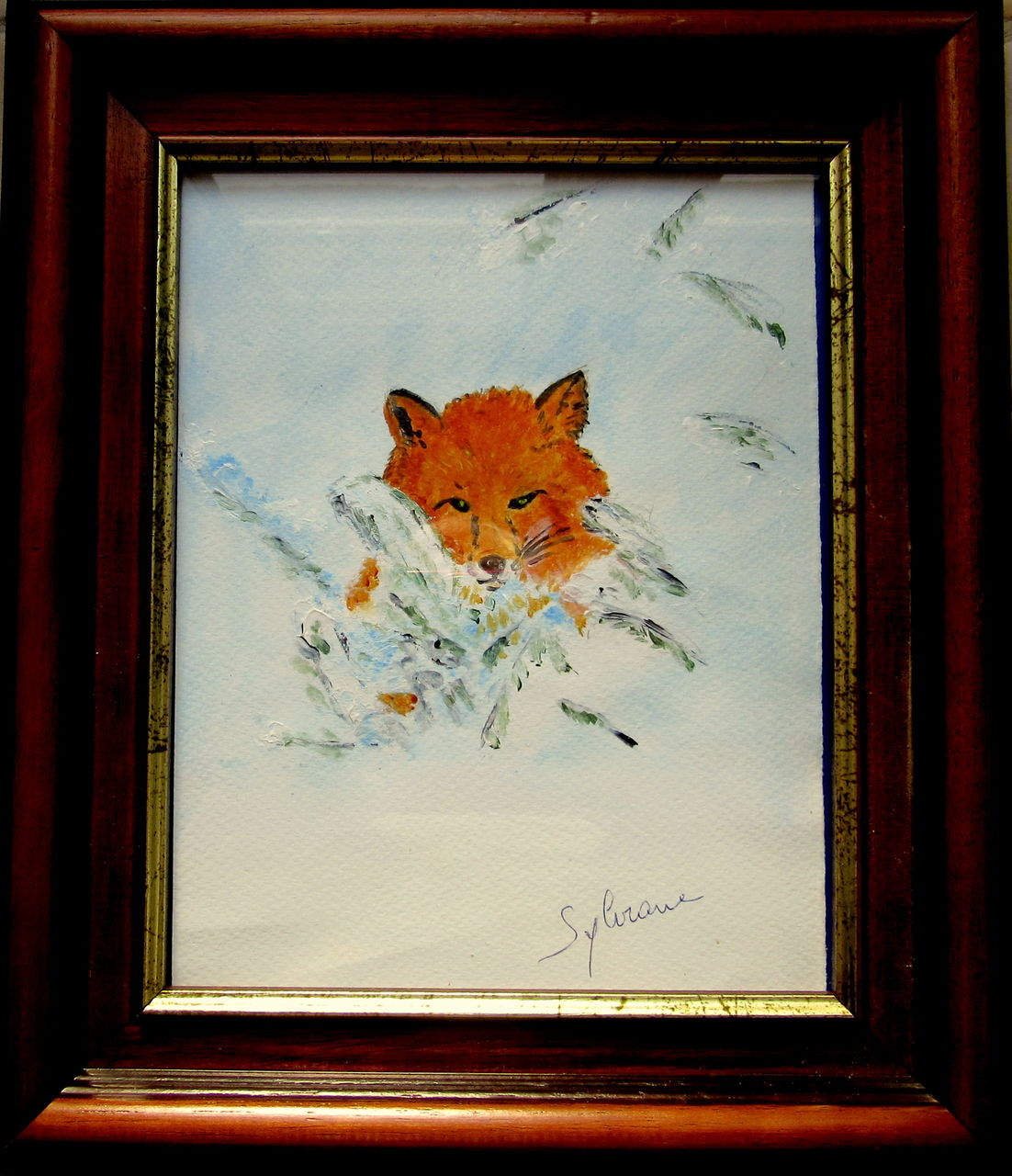 Michele martin petit renard.Sylviane.