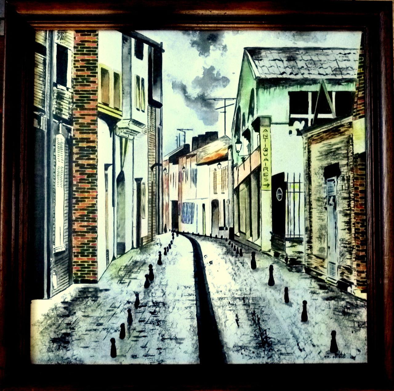 Michele martin Amiens.Les rues.