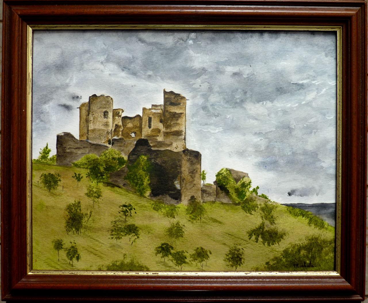 Michele martin Chateau de Domeyrat.