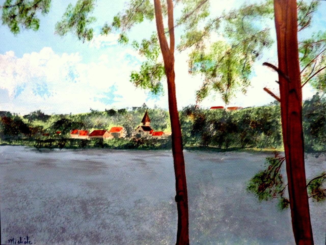 Michele martin L'ancien village de St Eloi -les-Mines.