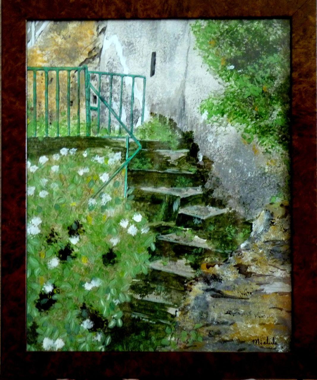 Michele martin L'escalier.