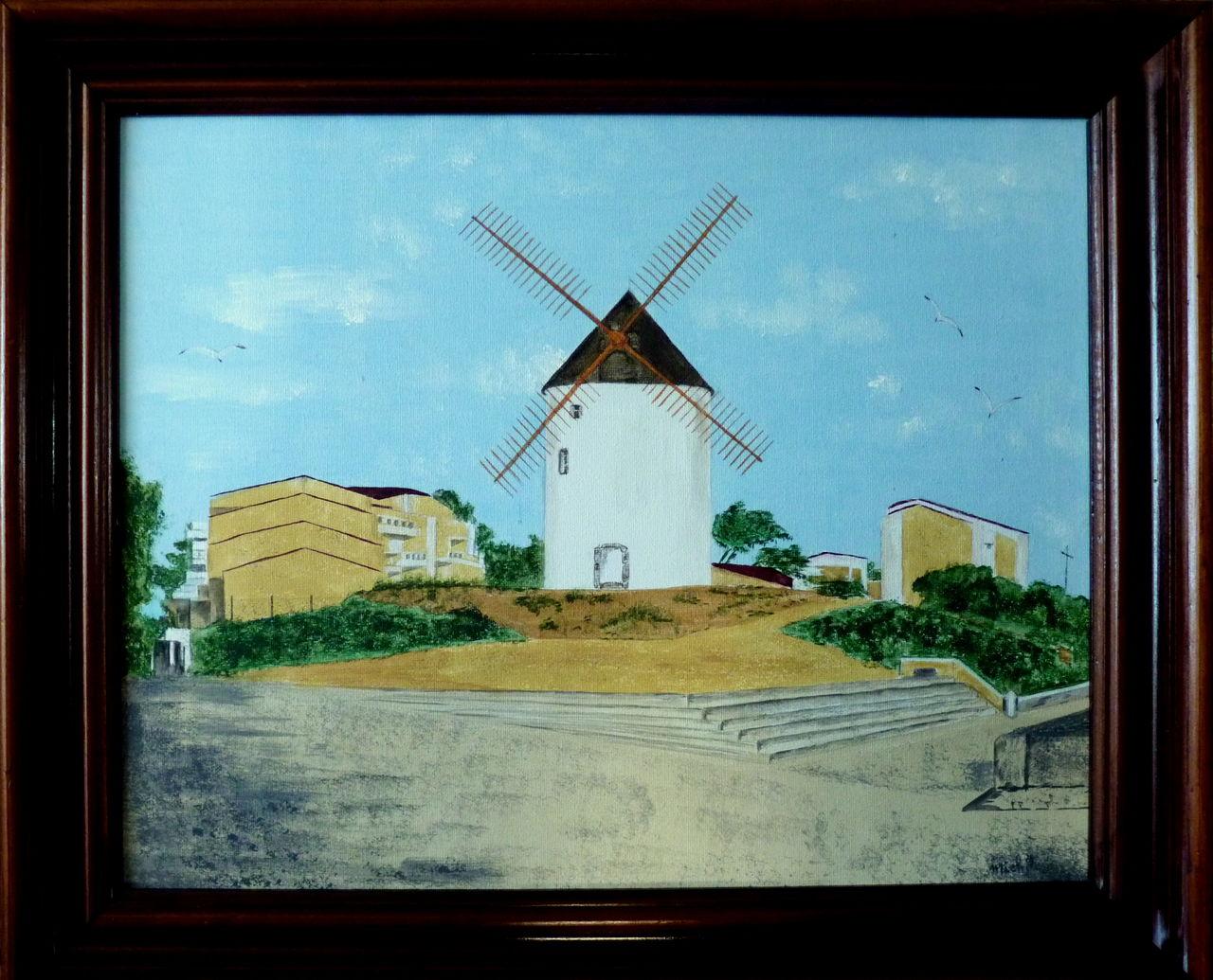 Michele martin Le moulin à Jard-sur- Mer,Vendée.Souvenir de vacances.
