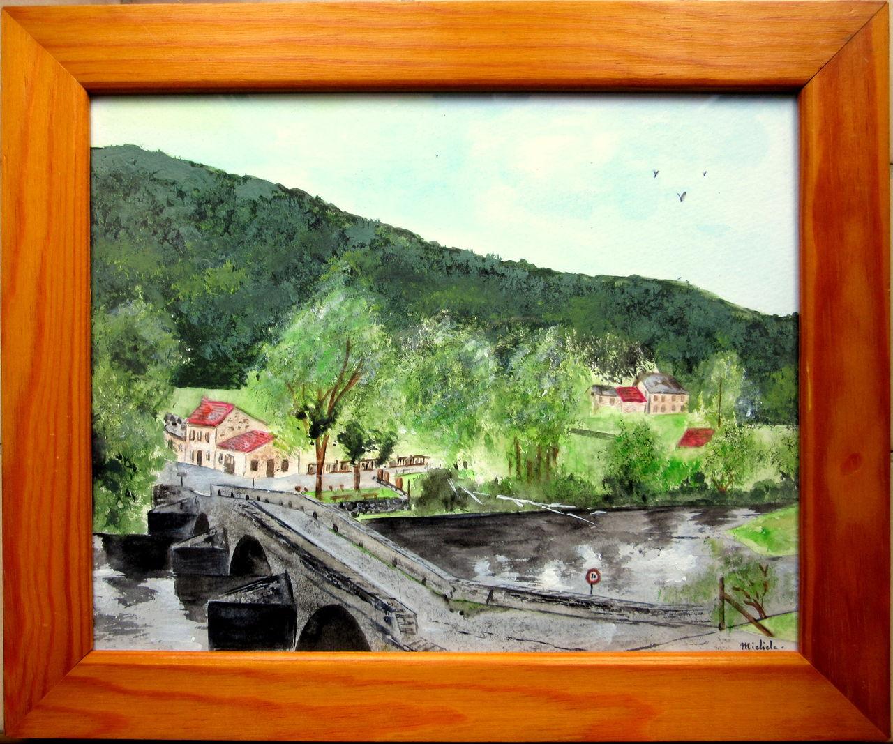 Michele martin le pont de Menat.