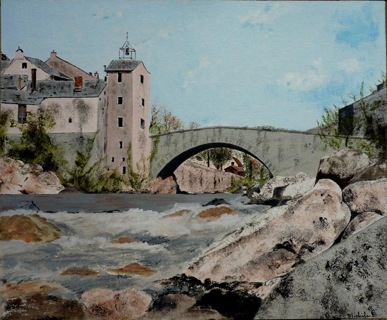 Michele martin Le pont Monvert