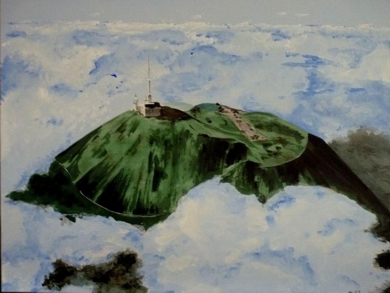 Michele martin le Puy de Dome.