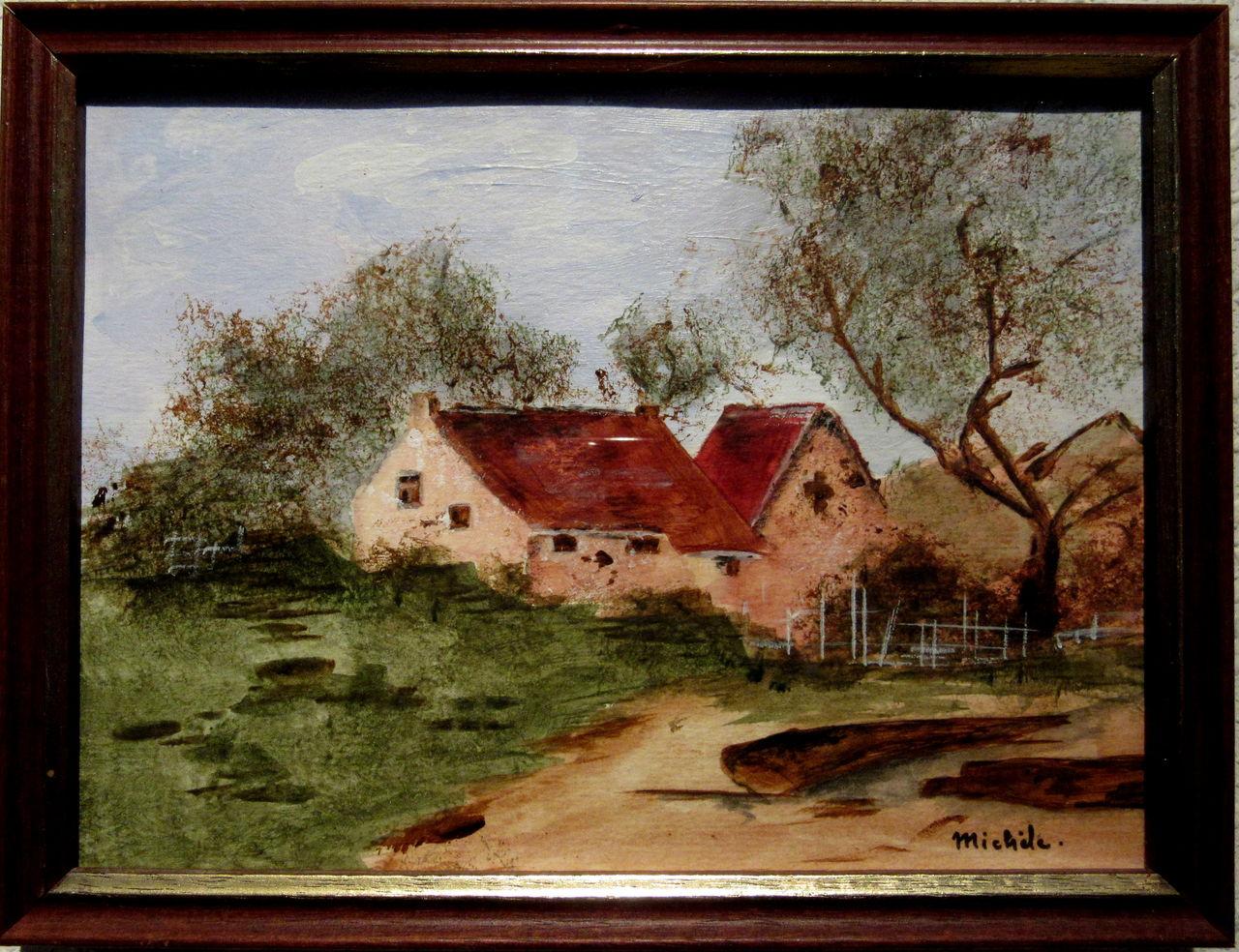 Michele martin Une ferme.