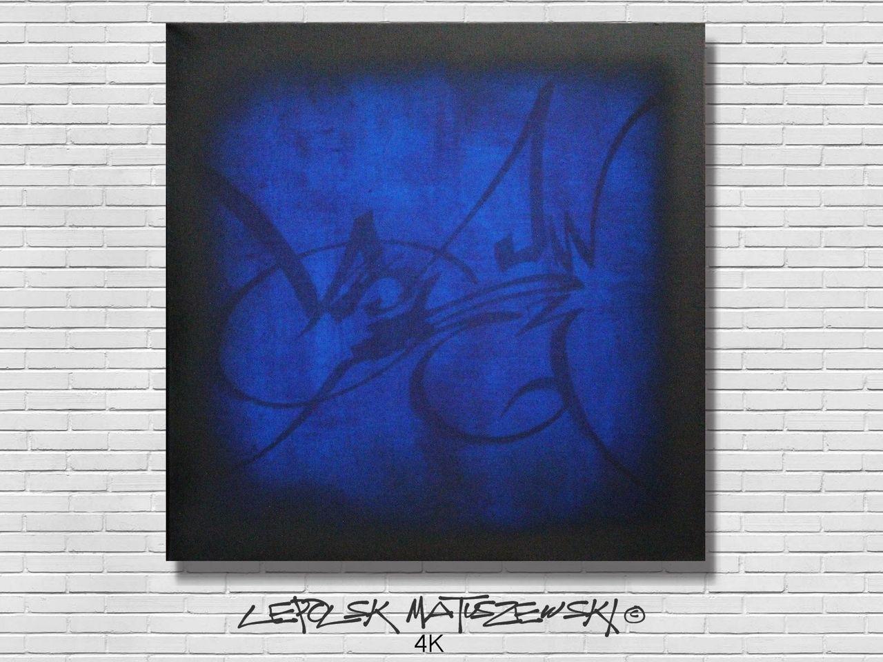 MISTER K  (Lepolsk Matuszewski) 4K  Expressionnisme abstrait contemporain