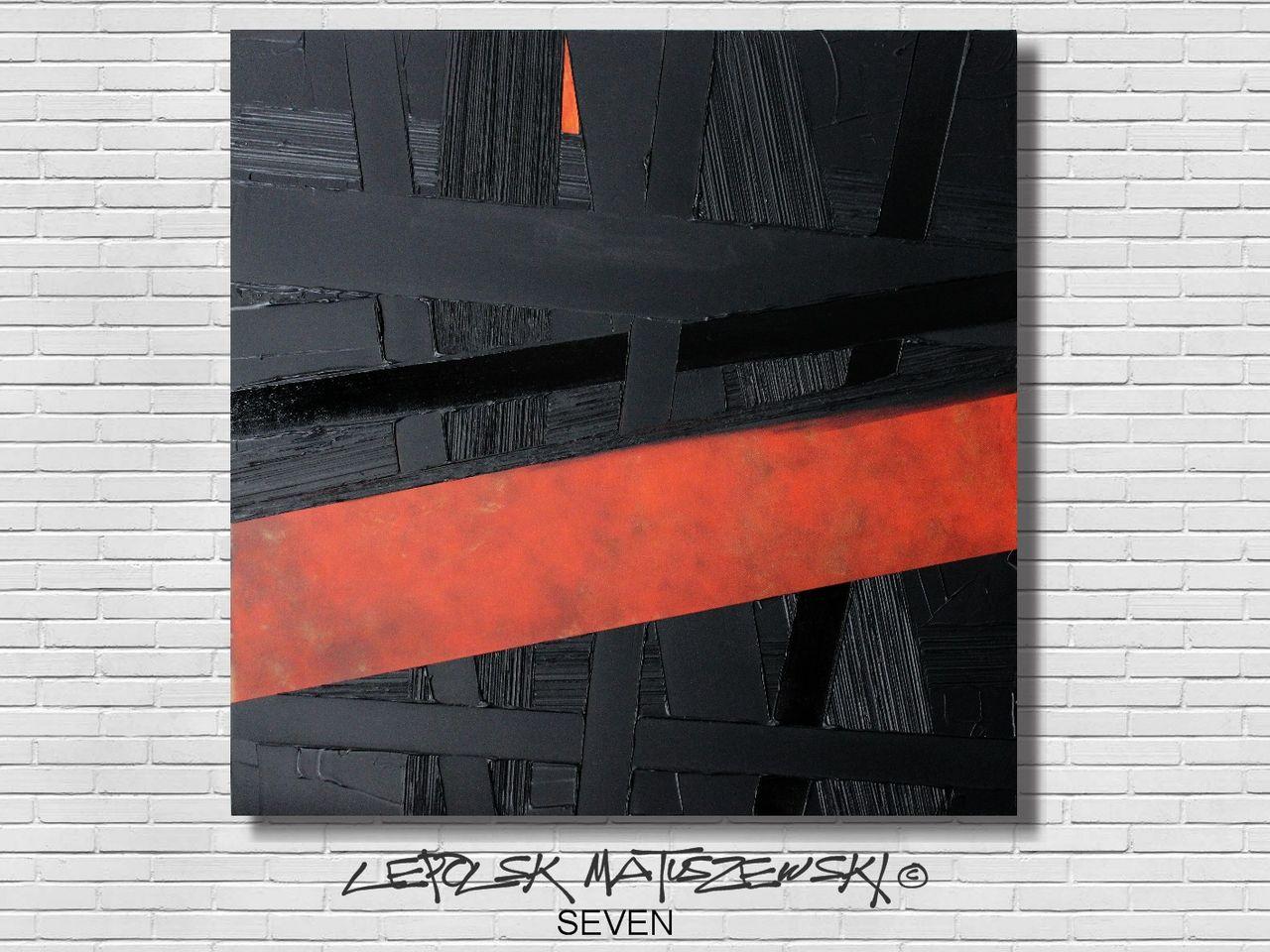 MISTER K  (Lepolsk Matuszewski) SEVEN  Expressionnisme abstrait