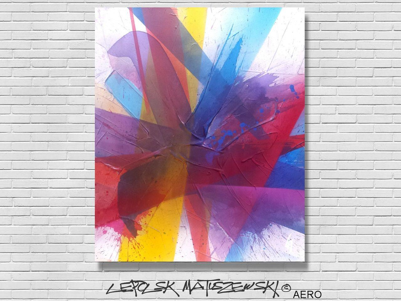 MISTER K  (Lepolsk Matuszewski) AERO  lepolsk abstract expressionnism 2016