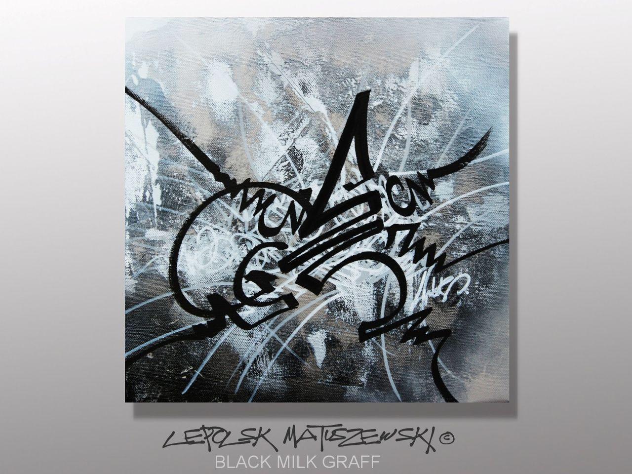 MISTER K  (Lepolsk Matuszewski) BLACK MILK GRAFF
