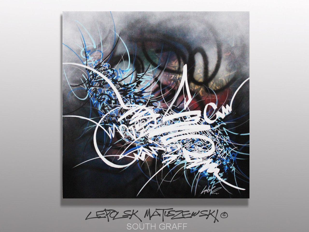 MISTER K  (Lepolsk Matuszewski) SOUTH GRAFF  street art calligraffiti graffiti abstrait