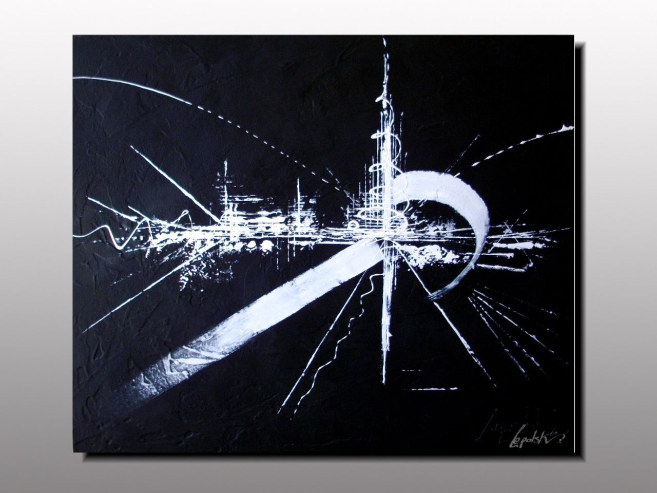MISTER K  (Lepolsk Matuszewski) ARCHETYPE   Dripping Art abstrait