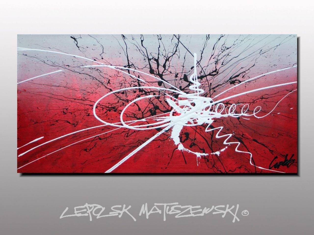 MISTER K  (Lepolsk Matuszewski) EDONIA  expressionnisme abstrait contemporain