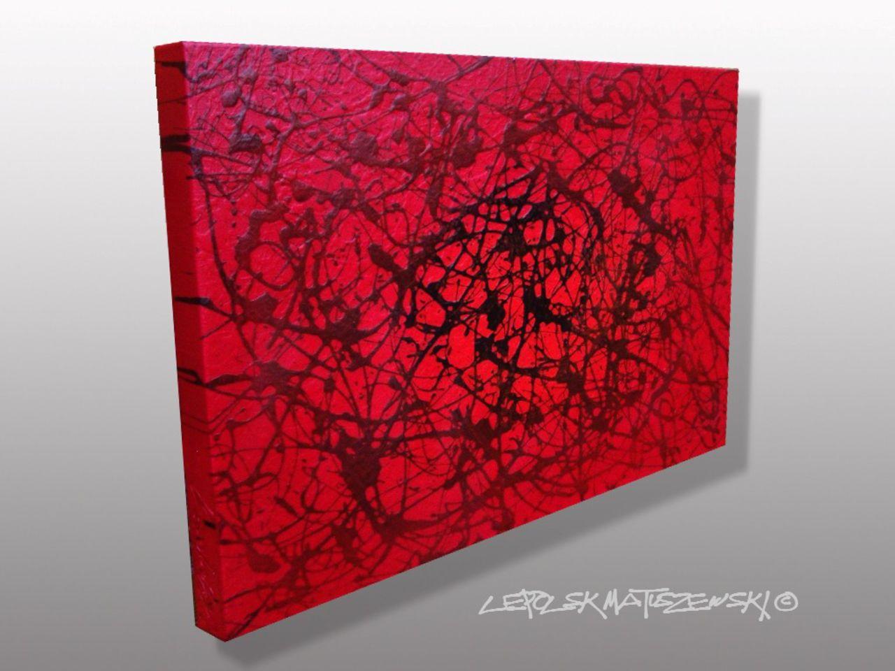 MISTER K  (Lepolsk Matuszewski) FLOW  Expressionnisme abstrait contemporain