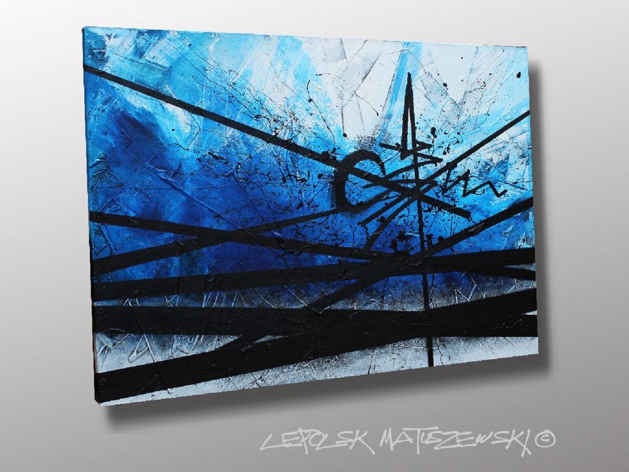 MISTER K  (Lepolsk Matuszewski)  FRACKTAL  Lepolsk Matuszewski expressionnisme abstrait contemporain