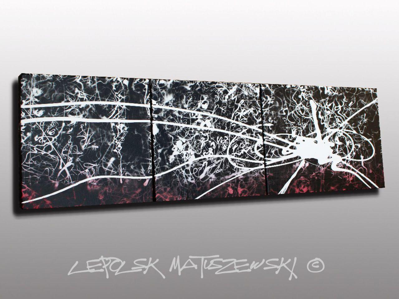 MISTER K  (Lepolsk Matuszewski) INCANDESCENCE  Expressionnisme abstrait contemporain