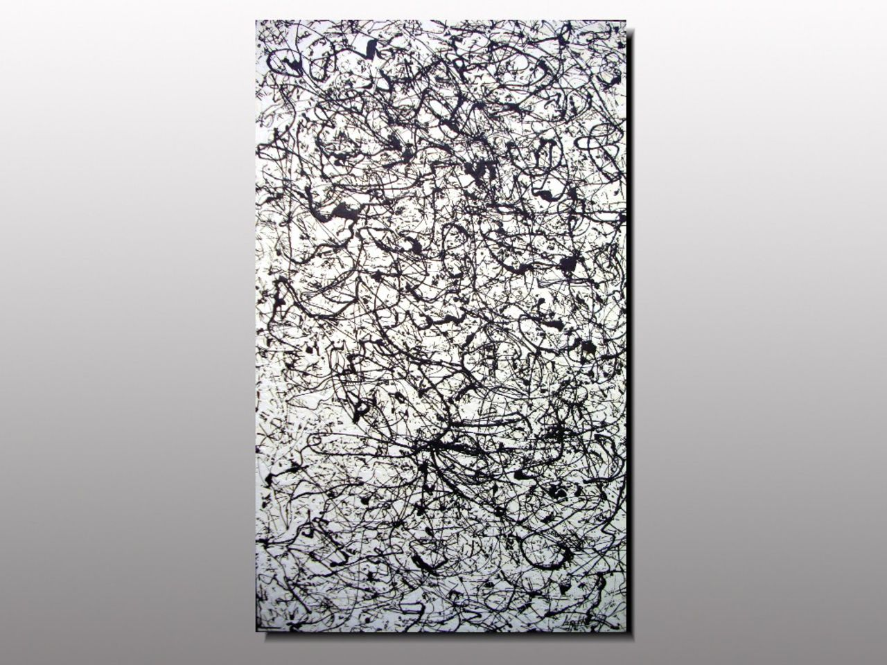 MISTER K  (Lepolsk Matuszewski) MENTOR  Expressionnisme abstrait contemporain
