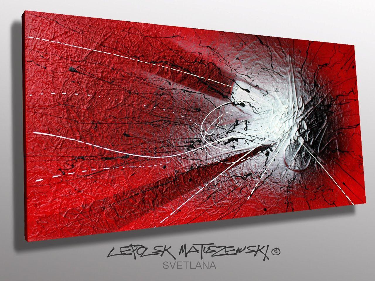 MISTER K  (Lepolsk Matuszewski) SVETLANA   Expressionnisme abstrait contemporain