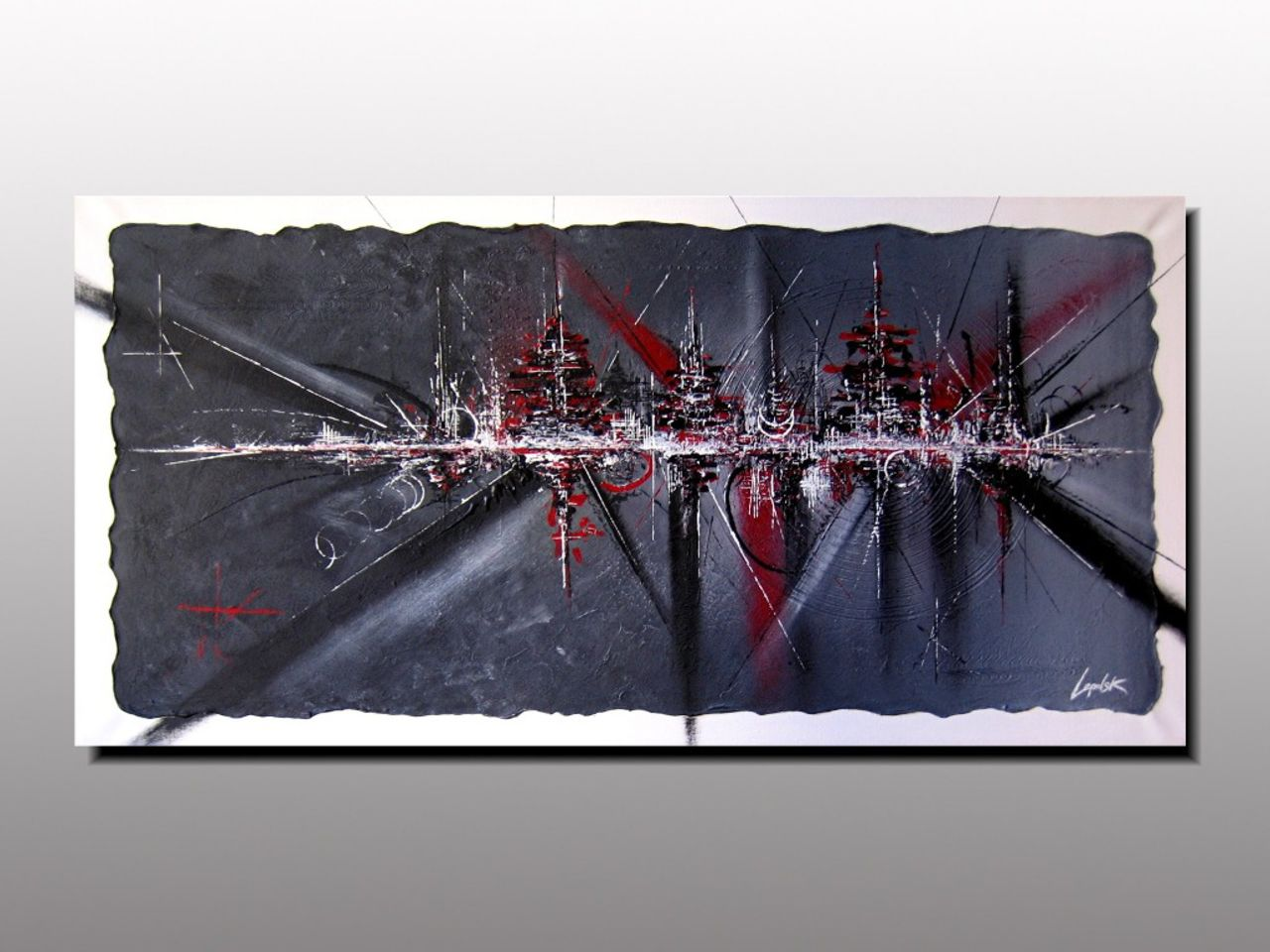 MISTER K  (Lepolsk Matuszewski) PAPILLON  Art abstrait contemporain