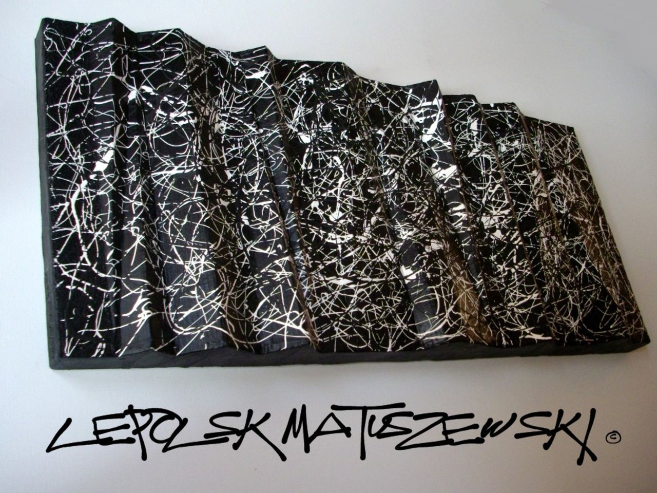 MISTER K  (Lepolsk Matuszewski) PROTOTYPE 104 expressionnisme abstrait