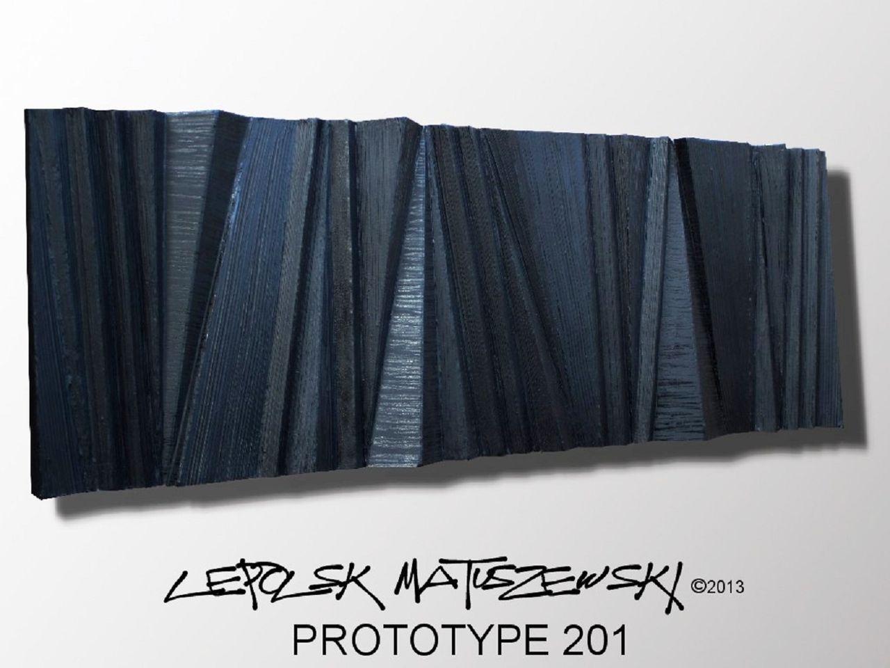 MISTER K  - Lepolsk Matuszewski PROTOTYPE 201  expressionnisme abstrait