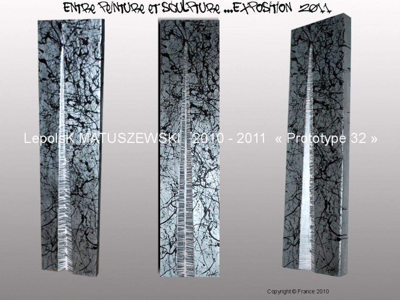 MISTER K  (Lepolsk Matuszewski) PROTOTYPE 32 expressionnisme abstrait