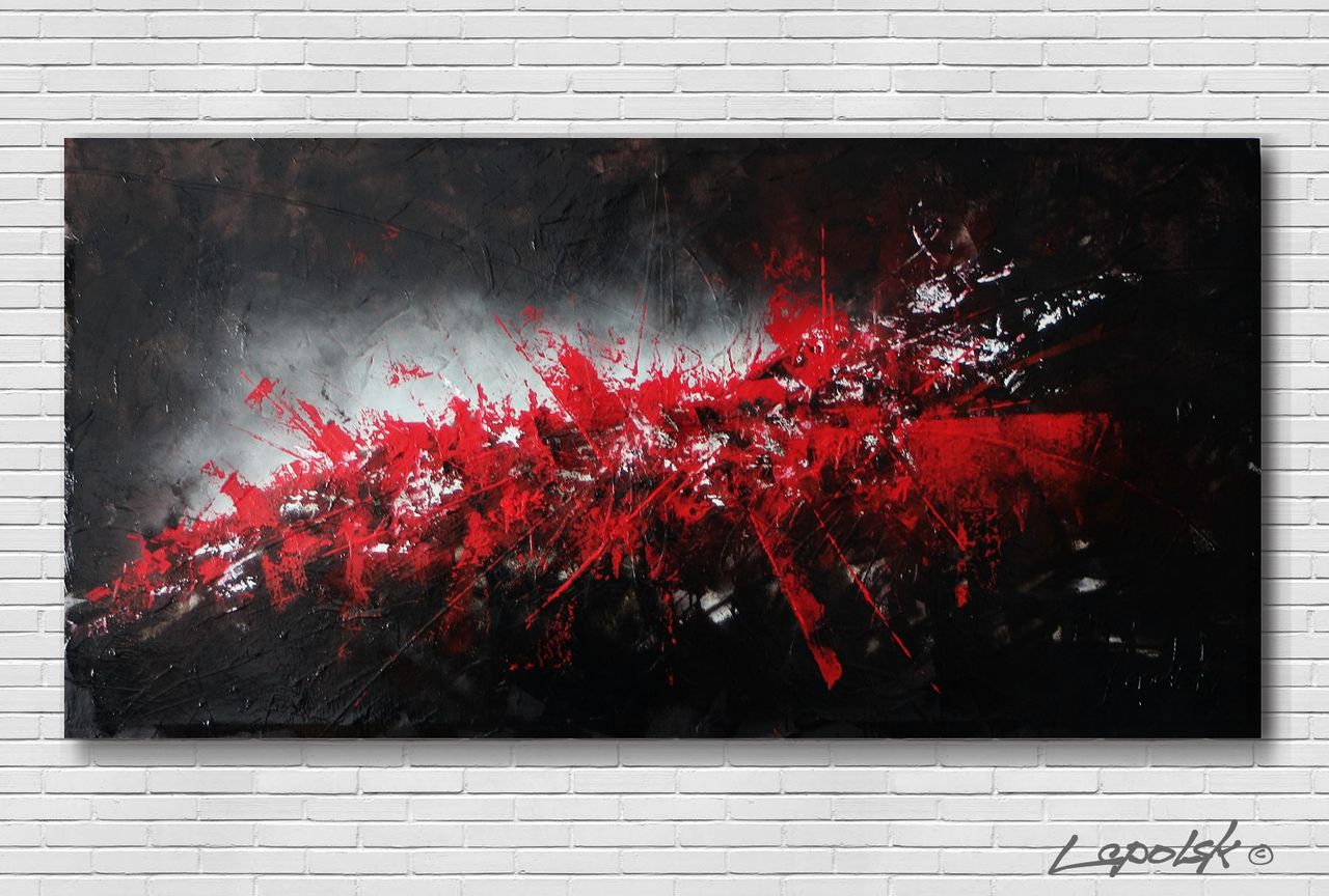 MISTER K  (Lepolsk Matuszewski) esperance  (expressionnisme abstrait)