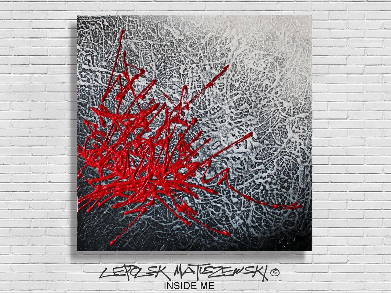 MISTER K  (Lepolsk Matuszewski) INSIDE ME   abstraction lyrique Lepolsk