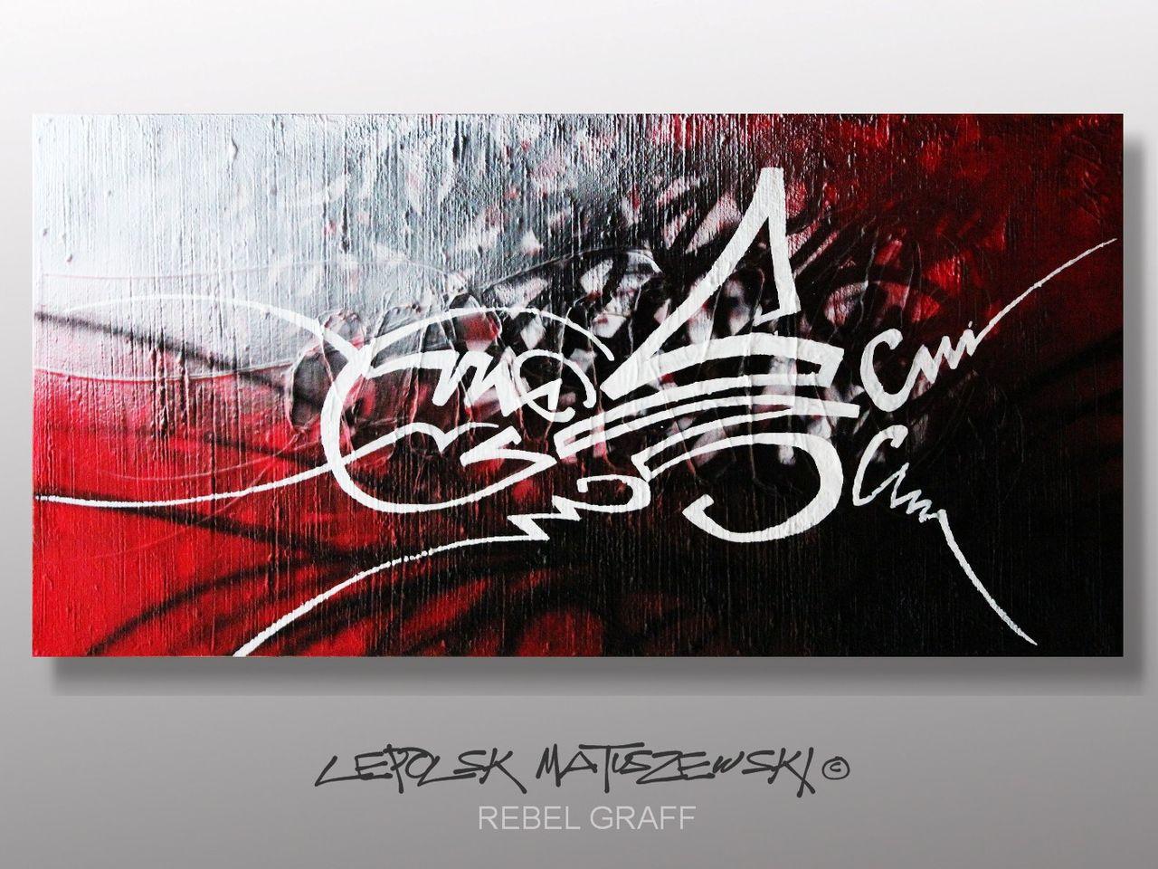 MK  Lepolsk Matuszewski REBEL GRAFF   Street art callifgraffiti graffiti expressionnisme abstrait