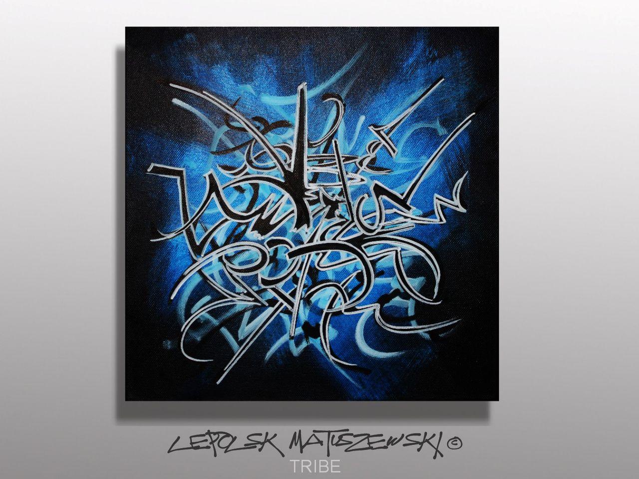 MK  Lepolsk Matuszewski TRIBE  street art calligraffiti graffiti abstrait